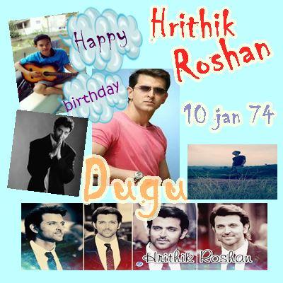 Happy birthday my idol hrithik roshan :)