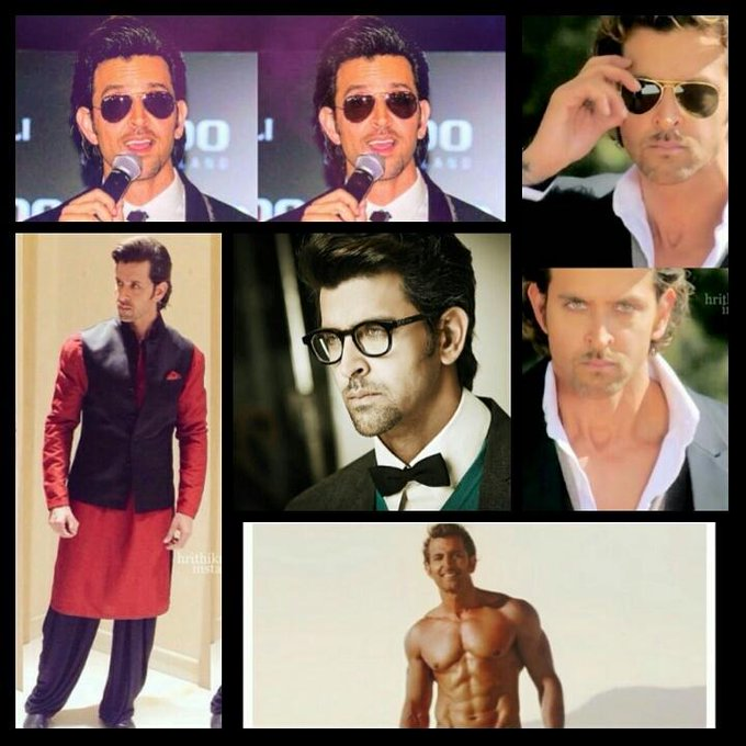 HAPPY BIRTHDAY HRITHIK ROSHAN always keep shining like this I might not be the biggest fan but I loveee you the most