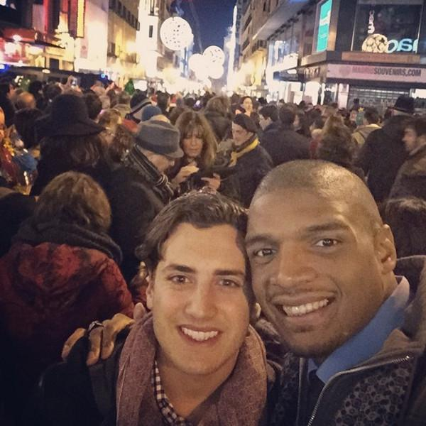 Congrats to Michael Sam on his engagement to longtime boyfriend Vito Cammisano!