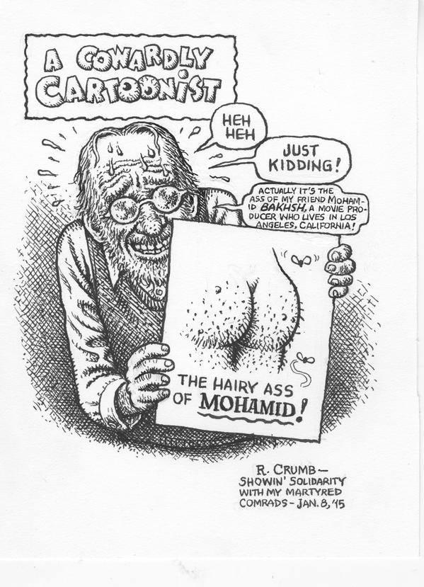 """Ah Crumb, enfin ! @LucasFerrero83: Crumb y su opinión sobre el atentado de Charlie Hebdo. http://t.co/TuNibUrSv8"""""""