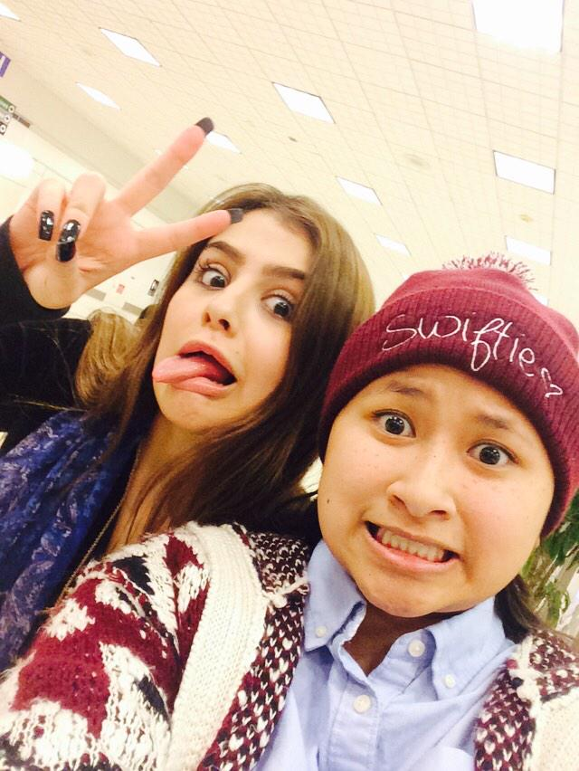 @laurengiraldo1 it was nice meeting you just now! You're so amazing and super sweet