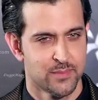 "Beauty call it \""Hrithik Roshan\"". Happy Birthday Hrithik"