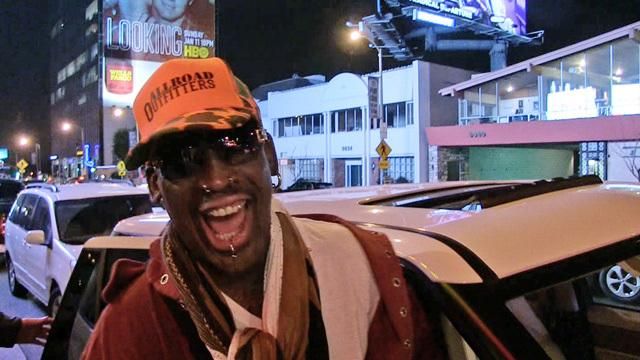 "How does Dennis Rodman feel about ""The Interview""?"