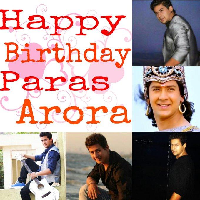Happy Birthday Paras Arora ... I love you paras arora...