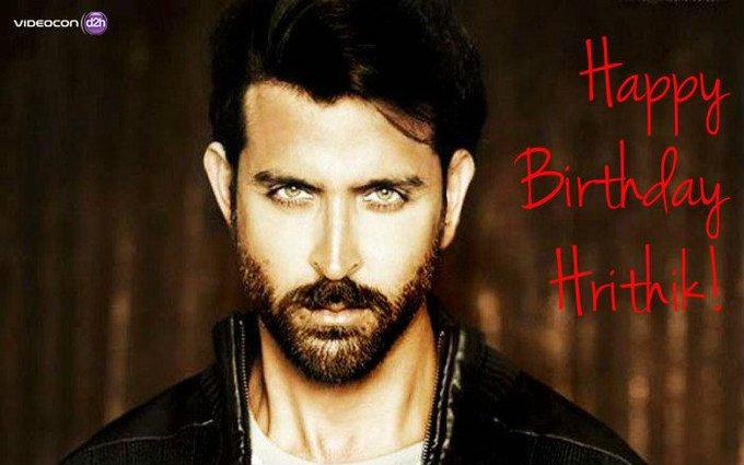 Happy Birthday Hrithik Roshan! Join us in wishing the Bollywood Heartthrob a wonderful year.
