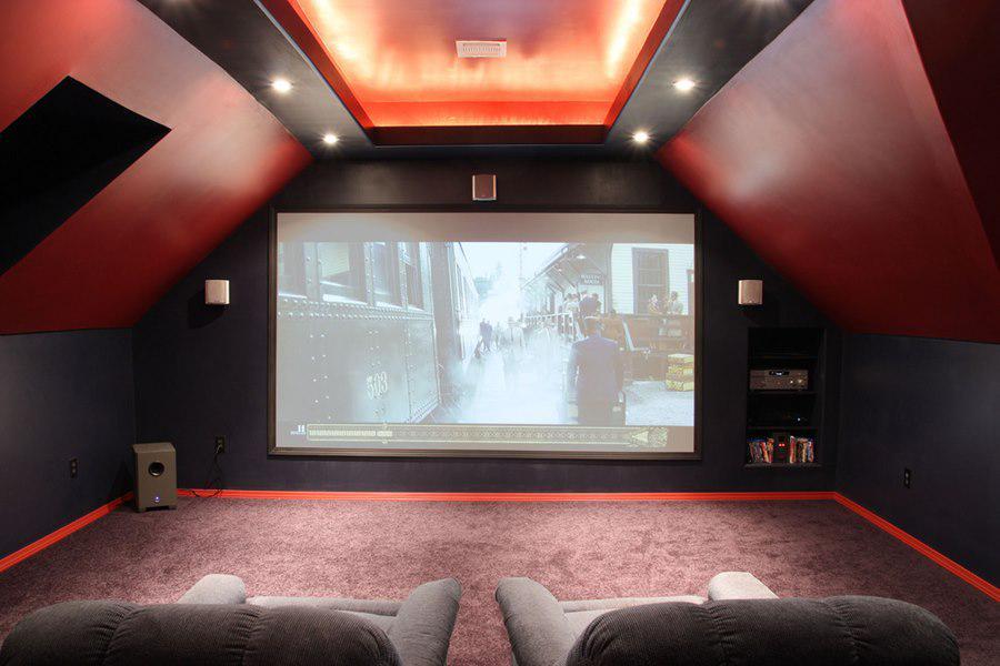 Как самому сделать домашний кинотеатр