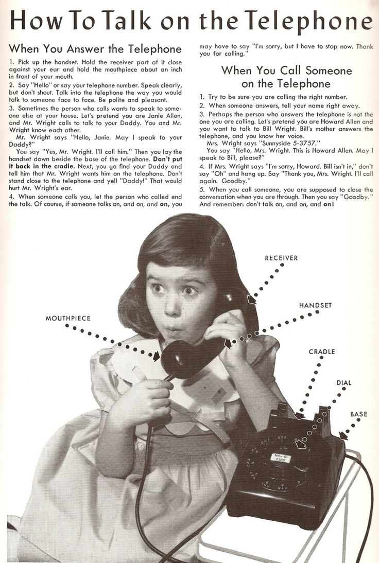 RT @HistoryInPics: How to talk on the telephone http://t.co/uYI39wZlVw