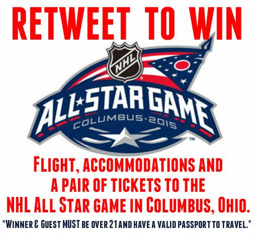 Heads up @MapleLeafs fans: RT for a chance to win flight, accommodations & tixs to the @NHL All Star game. Act fast! http://t.co/Tmkcq0CHDQ