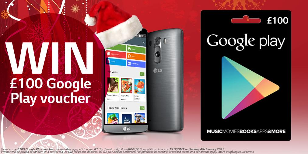 So, you were lucky enough to get an #LGG3 for Christmas!? Now RT & FOLLOW and you could WIN £100 to spend on apps! http://t.co/7sQZzpu9xt
