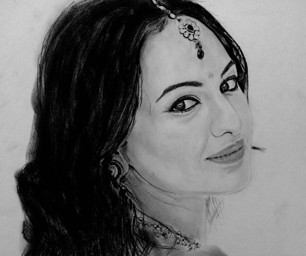 RT @Pawan982Sidhu: @sonakshisinha portrait by me http://t.co/zPZDW06JkA