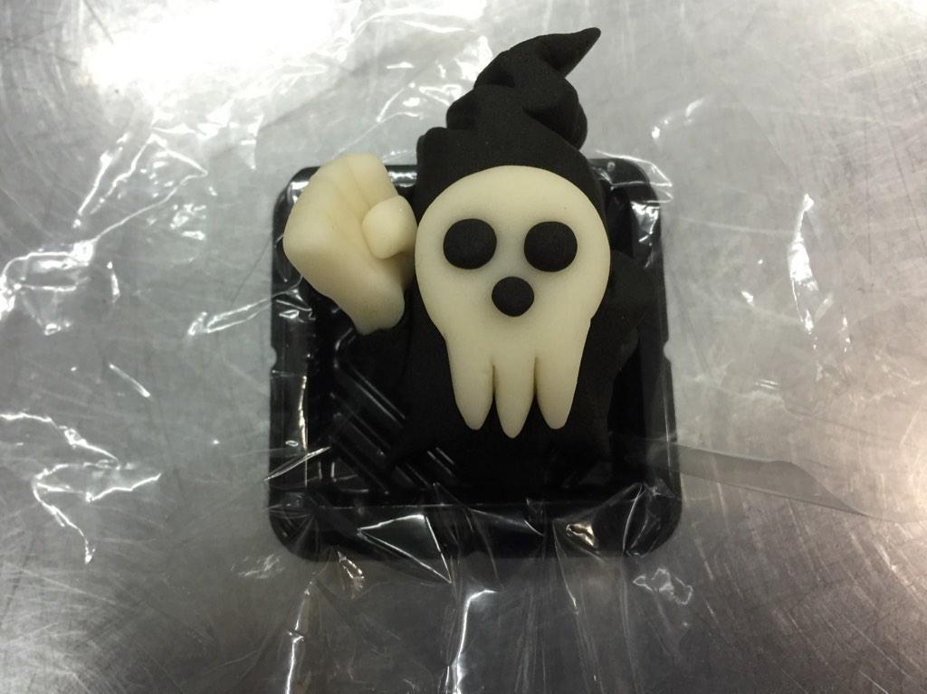 死神チョップ!死神様#ソウルイーター #和菓子で作ってみたZ