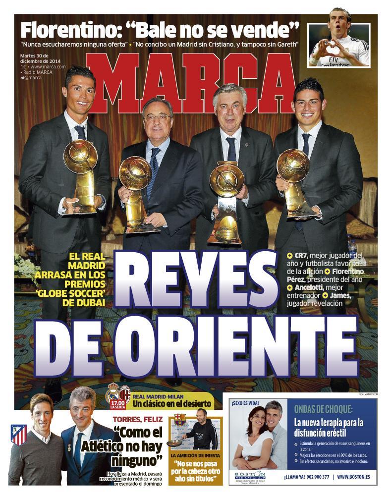 RT @marca: #LaPortada 'Reyes de Oriente' http://t.co/xl089QOOXd