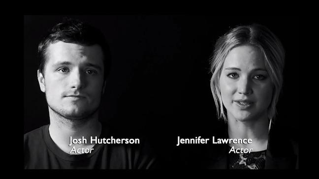 Jennifer Lawrence Joins Mockingjay Stars in Ebola PSA
