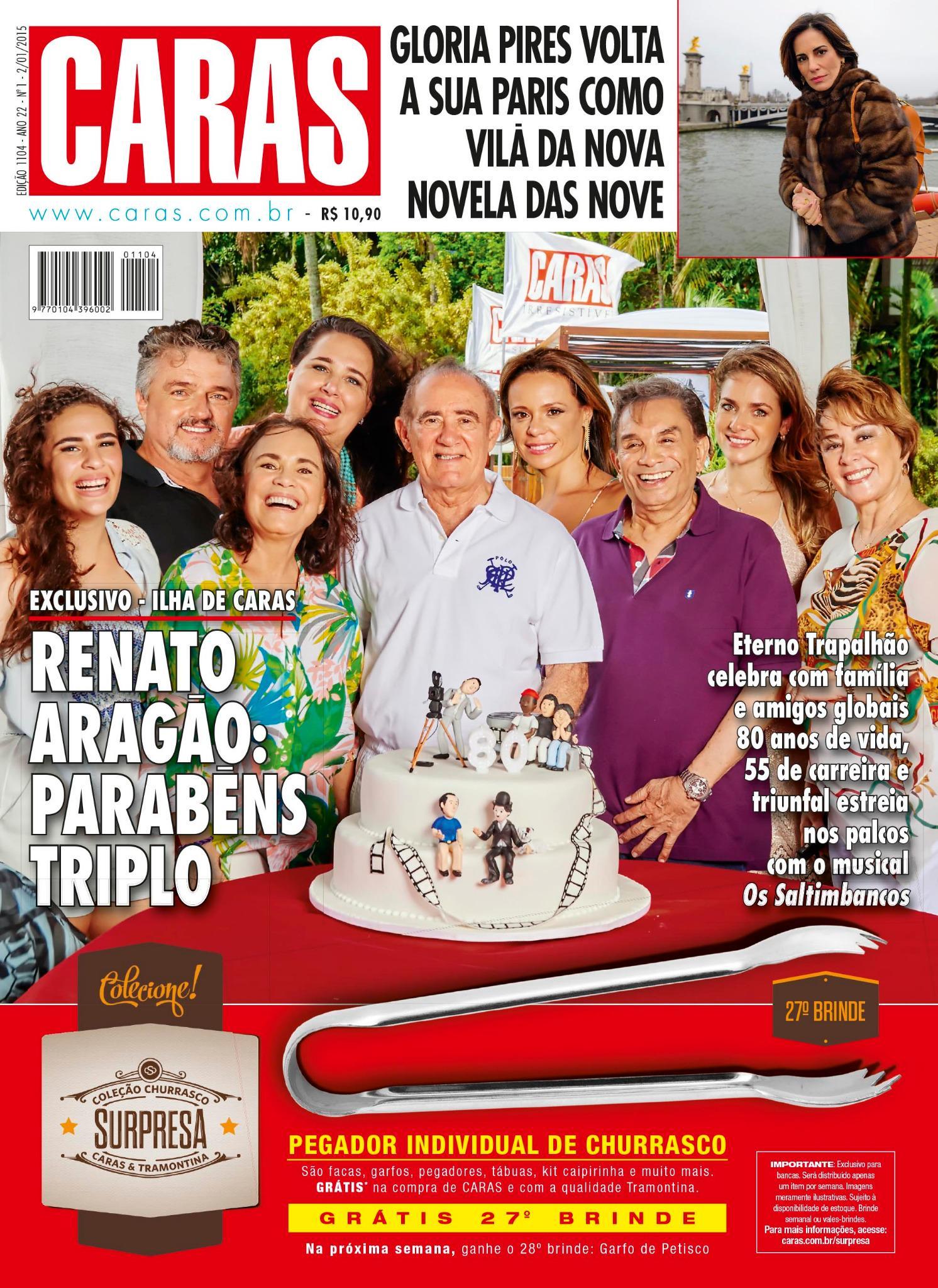 Esta semana na revista CARAS: Renato Aragão celebra 80 anos de vida, 55 de carreira e sucesso nos palcos. http://t.co/Tr3FJbHF7I