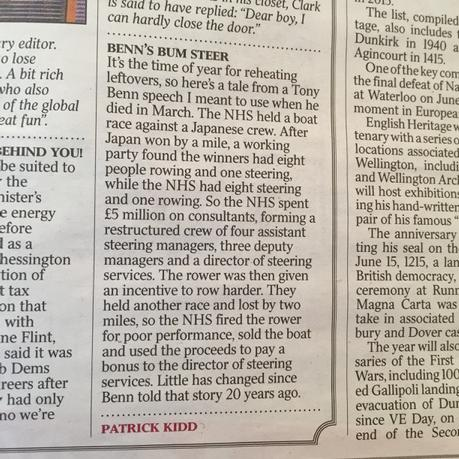 """@JamesTurner37: Brilliant anecdote in The Times today: http://t.co/Q8dhwy5zkV"" @patrick_kidd"