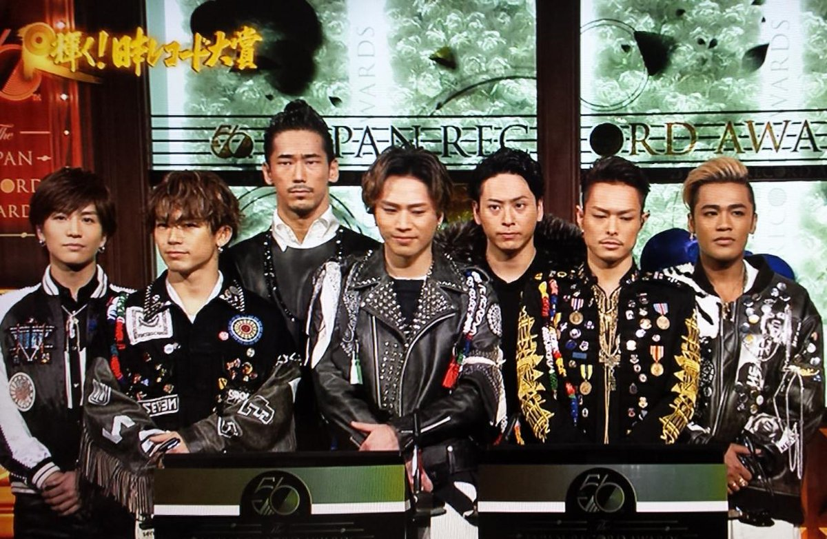 『第56回輝く!日本レコード大賞』  「R.Y.U.S.E.I.」三代目J Soul Brothers レコード大賞受賞!!!!!!!  おめでとうございます!!!!!!!  #レコ大 #JSB3 http://t.co/JTyHH1cf38
