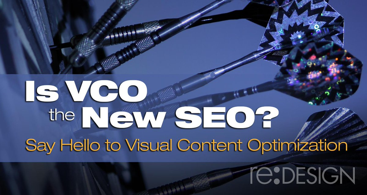Is VCO the New SEO? Say Hello to Visual Content Optimization https://t.co/DLEGPAQv78 #marketing #branding https://t.co/AuDQXisAyi