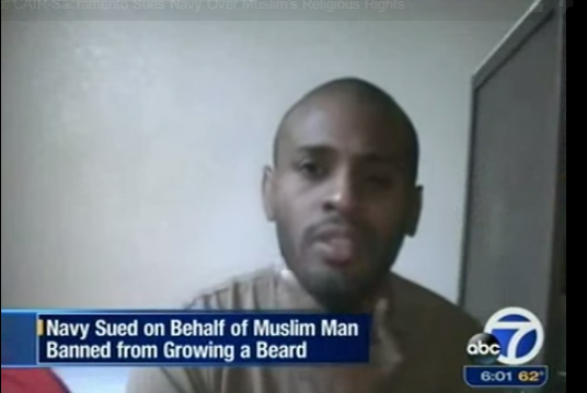 @CAIRNational sues the Pentagon over its facial hair ban http://t.co/427ksKoN6p Via @Newsmax_Media http://t.co/grFq3mmcg2