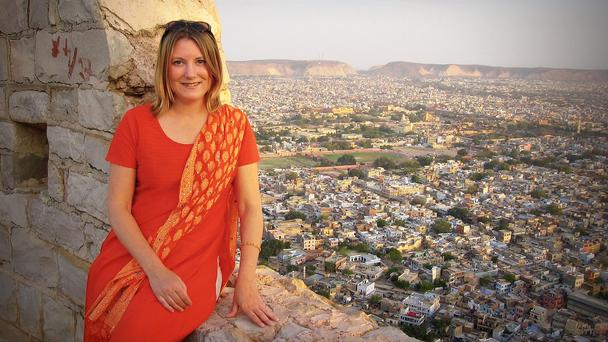 Her trip to India changed her life. Read how this financial writer quit her job to travel: