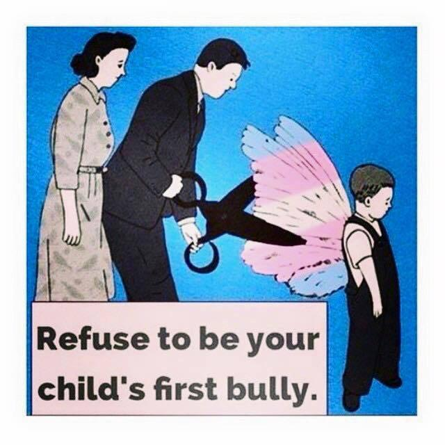 Don't be your child's first bully #humanity #FixSociety #RIPLeelah #RIPLeelahAlcorn #lgbt #cometogether #girlslikeus http://t.co/bCfkmp06rw