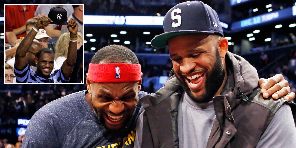 Happy 30th birthday to one of the world's biggest #Yankees fans, @KingJames. http://t.co/648d7enobE