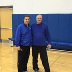 We've been struggling shooting so I brought in a real shooter: Louie Dampier. http://t.co/pnILQCT3PN