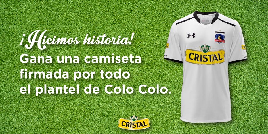 ¿En qué año Cristal auspició por 1ª vez la camiseta de Colo Colo? Haz RT si fue en 1993 o FAVORITO si fue en 1990. http://t.co/lPkbr6mh5v