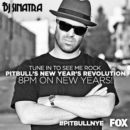 """@EndemolUS: Dance the night away with @DJSinatra, tomorrow at 8/7c on @FOXTV. #PitbullNYE http://t.co/bu6HiXXsvg"" #scorching"