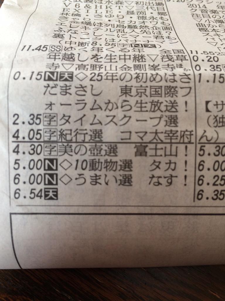 一富士二鷹三茄子 http://t.co/Vj1GVqvdHb