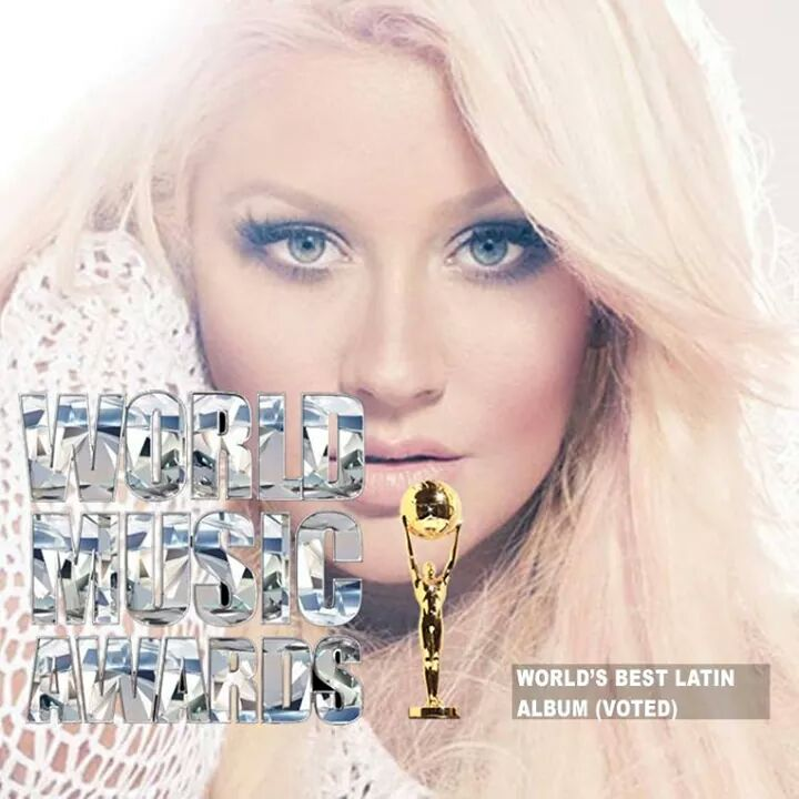 Congratulations to @xtina Winner of the Award for Best Latin Album (Lotus)- 2014 World Music Awards. http://t.co/Fbue4URUXT