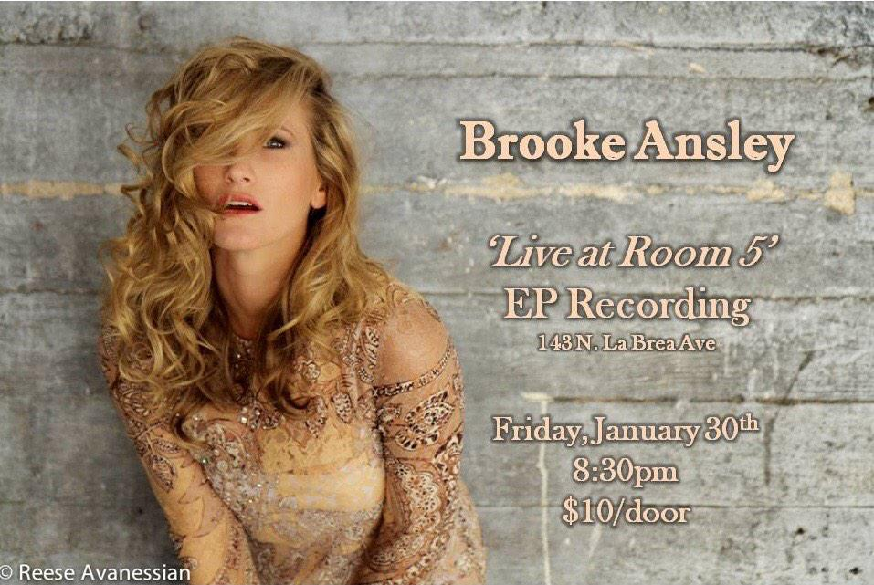 Announcement, ya'll-- come be a part of this special night with me! #liveEPrecording @room5la January30th http://t.co/l7k70aNUSo