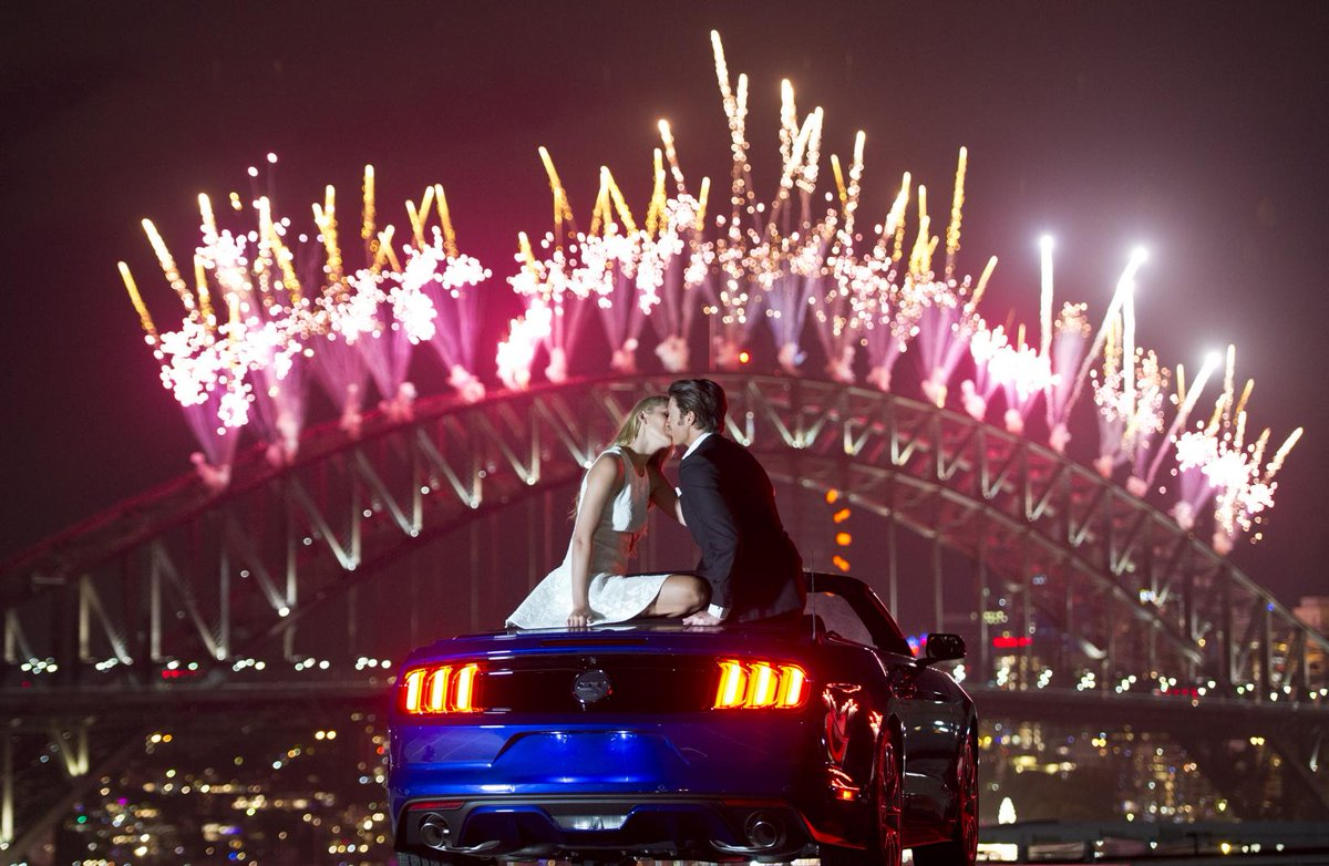 What better way to ring in 2015 than watching the Sydney NYE fireworks in the all-new Ford Mustang #FordNYE #SydNYE http://t.co/dO3vpDck3W