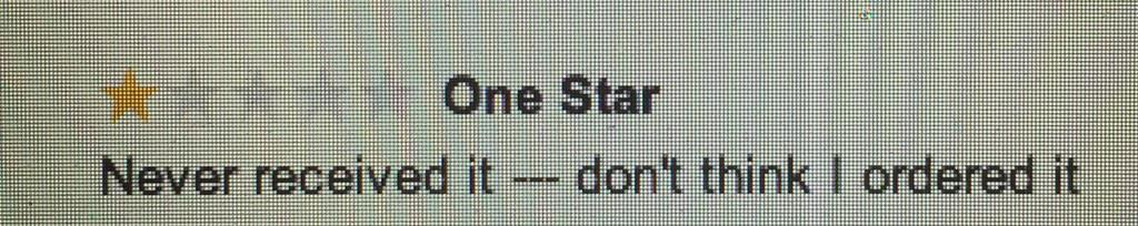 With all the end of the year lists, I'm proud to have inspired the greatest one-star Amazon review of 2014: http://t.co/cuDvrWmhln
