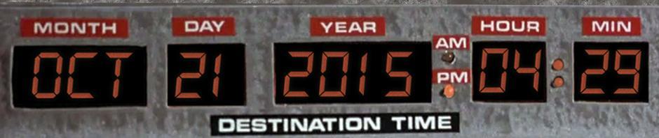 Feliz 2015! O ano do futuro do De Volta Para o Futuro. http://t.co/T0yeJ8YLWz