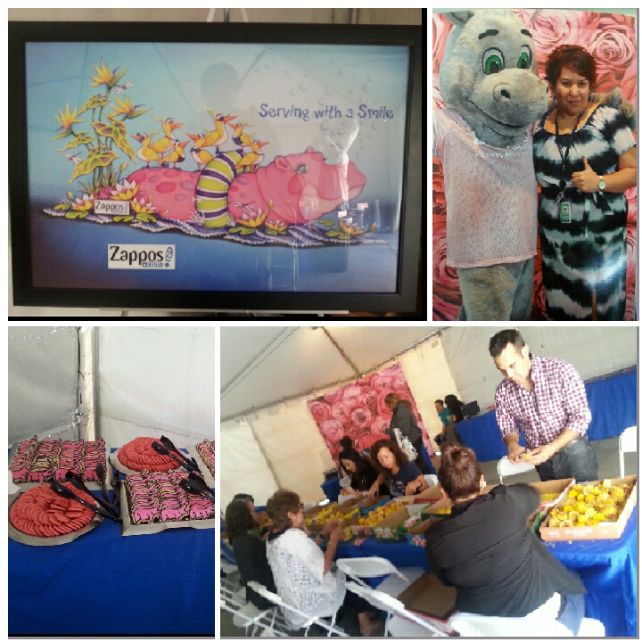 Watch the @roseparade tomorrow & see @zappos float, Lily the Hippo! We made it! http://t.co/lFero5iw4i #ServingASmile http://t.co/5pZMZvymyf