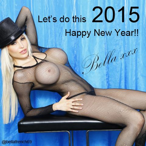 #HappyNewYear my loves! Make 2015 your little bitch, remember YOU are in total control of your life!