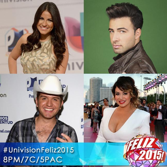 Una noche llena de artistas, música latina y buenos deseos te espera HOY a las 8PM/7C #UnivisionFeliz2015 http://t.co/hzRcOYBrdV