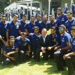RT @Raina_World: Team India were honored to be hosted by Australian Prime Minister Mr. Tony Abbott for afternoon tea in Sydney.