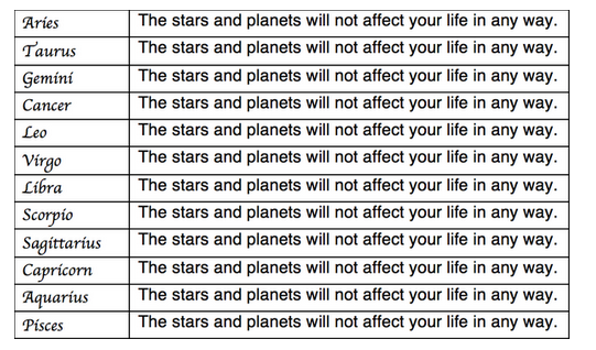 Your horoscope for 2015. RT @ThePoke Your stars for the year ahead http://t.co/cOh7Hb2LKq
