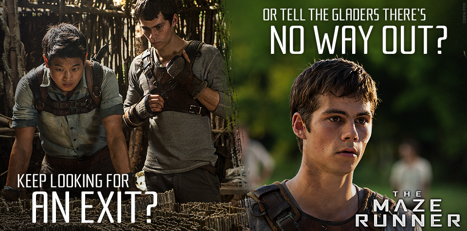 No Glader has found it yet. Would you if you were @dylanobrien or @kihonglee? #MazeRunner http://t.co/6iryebJffZ