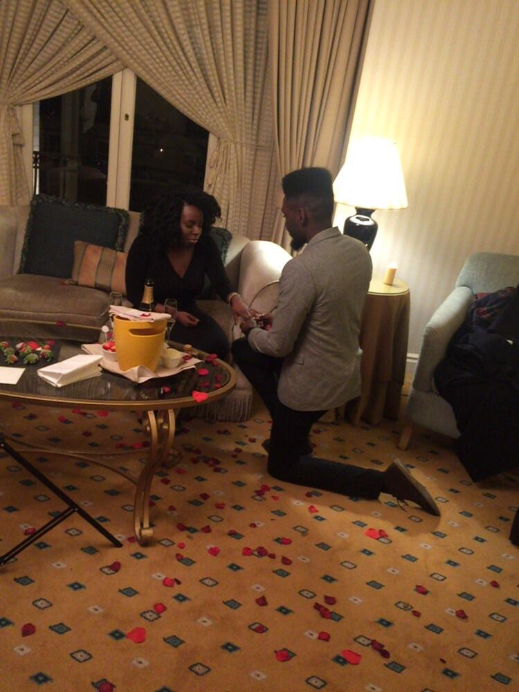 - Congratulations To @PureYinkz His Proposal, Such A God Fearing Focused Guy. http://t.co/HHA6psH1Ty