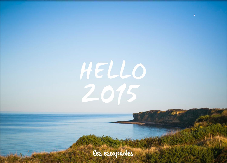 Une belle et heureuse année pleine d'escapades ! #Hello2015 http://t.co/w13sox9fHP