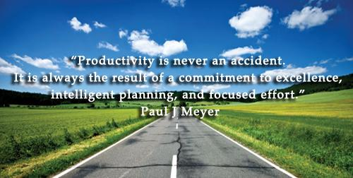 """@benkubassek: ""Productivity is the result of a commitment to excellence, intelligent planning, and focused effort."" http://t.co/RWPh25F71j"""