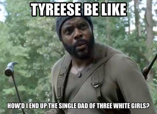 Tyreese should get the 2014-2015 #Maury Award!! #TheWalkingDeadMarathon http://t.co/vSfIP9VWEl