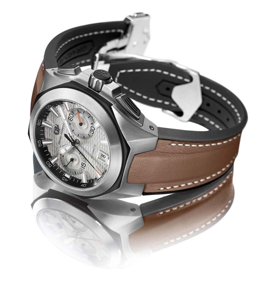 Different views on the rugged yet elegant chronohawk with silver dial, brown leather strap #chronograph #watches http://t.co/UEDgv70dBW