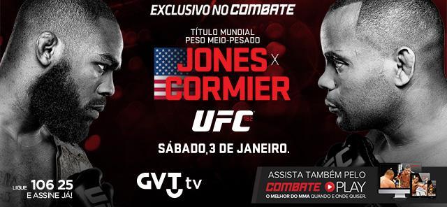 Jon Jones tem mais um desafio hoje! Não perca o #UFC182 AO VIVO no @canalcombate (161). Ligue 106 25 e assine já! http://t.co/JxRgZb2TuN