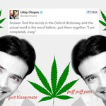 RT @BuzzFeedIndia: 22 Signs Uday Chopra Is Scoring The Best Hash In India http://t.co/kkqrChf2n2 http://t.co/hKK5ALWWg0