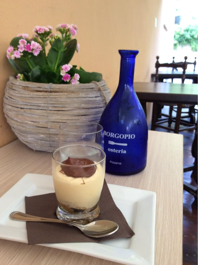 A Delicious Afternoon.. at #borgopio with #tiramisu in #terracina http://t.co/aVcJAwhWJz