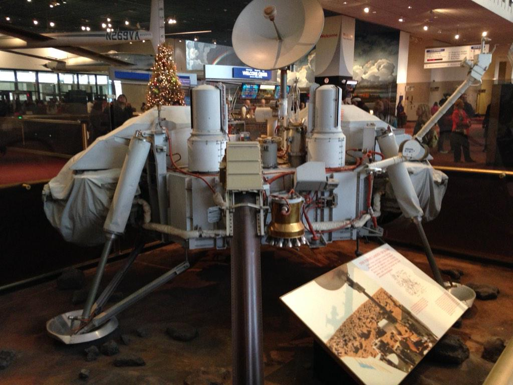 Viking 1 sent back the photos that ignited my passion for Mars as a boy. @airandspace http://t.co/2IMcCAnXEq