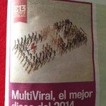 RT @goachet: Felicitaciones @Calle13Oficial y @Visitante13 ! Multiviral, el mejor disco del 2014 en Puerto Rico! http://t.co/TEDOicnePf